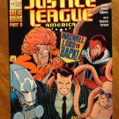 JLA - Justice League America #57 (1980's series) comic book - DC Comics
