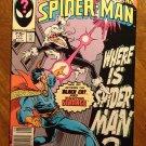 Peter Parker, The Spectacular Spider-man (spiderman) comic book #117 Marvel Comics