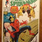 Peter Parker, The Spectacular Spider-man (spiderman) #192 comic book, Marvel Comics, Die cut cover