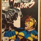 New Warriors #33 comic book - Marvel comics