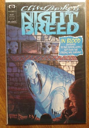 Clive Barker's Night Breed #12 comic book - Marvel comics, Nightbreed