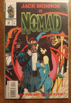 Nomad #20 comic book - Marvel Comics