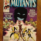 New Mutants #49 comic book - Marvel comics