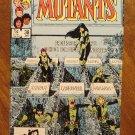 New Mutants #38 comic book - Marvel comics