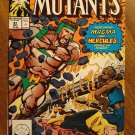 New Mutants #81 comic book - Marvel comics