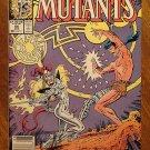 New Mutants #66 comic book - Marvel comics