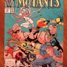 New Mutants #65 comic book - Marvel comics