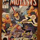 New Mutants #57 comic book - Marvel comics