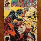 New Mutants #53 comic book - Marvel comics