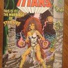 The New Teen Titans #17 comic book - DC Comics