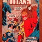 The New Titans #77 comic book - DC Comics