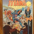 The New Teen Titans: The President's Drug Awareness Campaign comic book - DC Comics