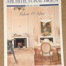 Architectural Digest Magazine - February 1996, Before & After, New York apartments