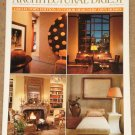 Architectural Digest Magazine - September 1998, Interior Designer's own homes, terry Hunziker