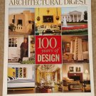 Architectural Digest Magazine - April 1999, 100 years of design - 475 pages!