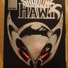 Shadowhawk #1 comic book - silver foil embossed cover, w/ coupon! - Image comics