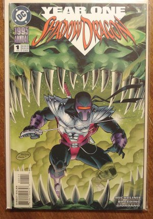 Shadow Dragon Annual #1 comic book - DC Comics