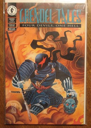 Grendel Tales: Four Devils, One Hell #3 comic book, Dark Horse Comics