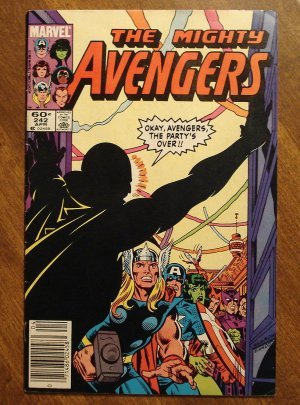 The Avengers #242 comic book - Marvel Comics