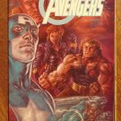 The Avengers: Hot Shots fold-out poster comic book - Marvel Comics
