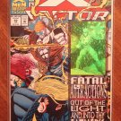 Marvel Comics - X-Factor #92 comic book w/ holo-foil card on the cover, NM/M