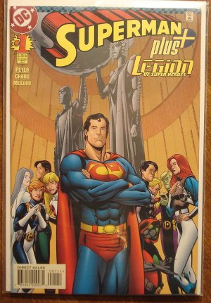 Superman Plus The Legion of Super-heroes (LSH) #1 comic book - DC Comics