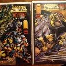 Badrock & Wolverine #1 (BOTH COVERS) comic book - Image & Marvel comics