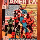 Captain America #345 comic book - Marvel Comics