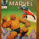 The Life of Captain Marvel #2 (1985) comic book - Marvel Comics