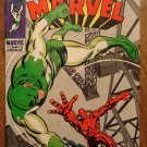 Captain Marvel #13 (1969) comic book, Fine/Very Fine condition - Marvel Comics
