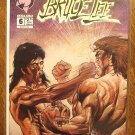 Bruce Lee #6 comic book - Malibu Comics