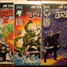 Breed II #'s 2, 3, 5 comic book - Bravura Comics, Jim Starlin