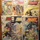 Magnus Robot Fighter #'s 31, 32, 33, 34, 35, 36 comic book - Valiant Comics