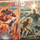 Magnus Robot Fighter & Nexus #'s 1 & 2 comic book - Valiant & Dark Horse Comics