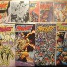 Magnus Robot Fighter #'s 21, 22, 23, 24, 25, 26, 27, 28, 29, 30 comic book - Valiant Comics