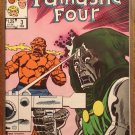 The Official Marvel Index to the Fantastic Four (4) #3 comic book - Marvel Comics