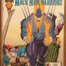 Marvel Comics Presents #161 comic book, Vengeance, Hawkeye, Mace, New Warriors