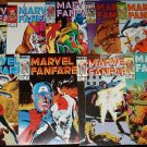Marvel Fanfare #'s 12, 13, 14, 15, 16, 17, 18, 19, 20 comic books