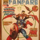 Marvel Fanfare #1 (1990's series) comic book, Marvel comics, Captain America & The Falcon