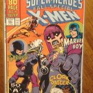 Marvel Super-Heroes 1991 Fall Special comic book, X-men, Marvel Boy, Shroud, Cloak & Dagger