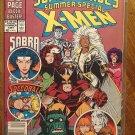 Marvel Super-Heroes 1991 Summer Special comic book, X-men, Sabra, Speedball, Power Pack