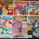 Marvel Tales #'s 275, 277, 278, 282, 286, 288 comic books, Spider-Man, Hobgoblin, more