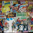 Marvel Tales #'s 199, 200, 201, 202, 204, 207, 208, 212, 215 comic books, Spider-Man, Punisher, more