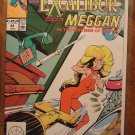Marvel Comics Presents #34 comic book, Excalibur, Meggan