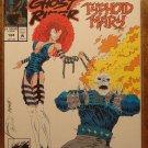 Marvel Comics Presents #124 comic book, Wolverine, Ghost Rider