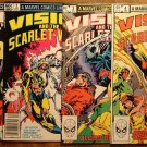 The Vision & The Scarlet Witch 4 issue mini series #'s 1, 2, 3, 4 comic book - Marvel Comics