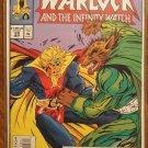Warlock & The Infinity Watch #28 comic book - Marvel comics