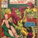 Warlock & The Infinity Watch #12 comic book - Marvel comics