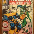 Warlock & The Infinity Watch #8 comic book - Marvel comics