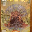 The Terminator #8 comic book - Now Comics